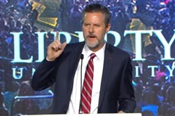 Jerry get your gun: The president of Liberty University wants his entire student body to pack heat.