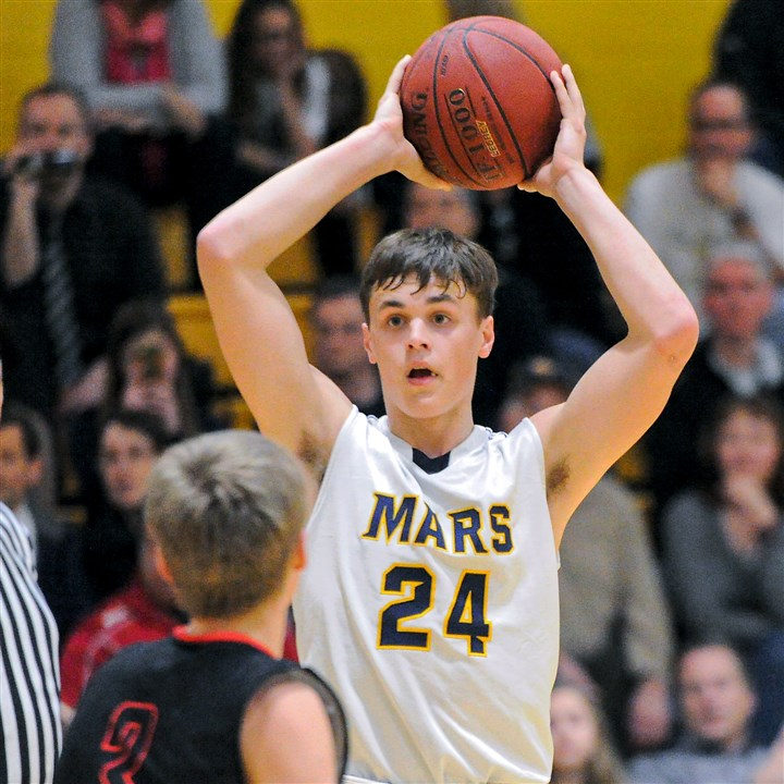 20151204JHSportsCarmody02-1 Mars sophomore Robby Carmody has a number of major colleges courting him.