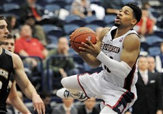 Jeremiah Jones will miss the rest of the season with a torn ACL, according to Duquesne coach Jim Ferry.