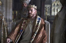 "Michael Fassbander stars in ""Macbeth."""