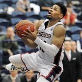 Duquesne's Jeremiah Jones during a game earlier this month.