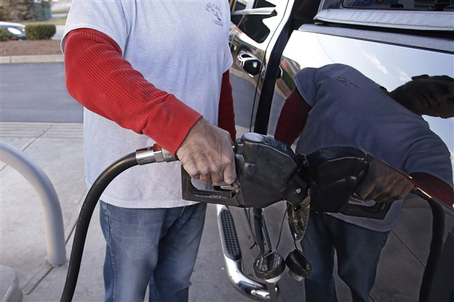 Gasoline prices in southwestern Pennsylvania are up 6 cents in the last month, which is unusual for October.