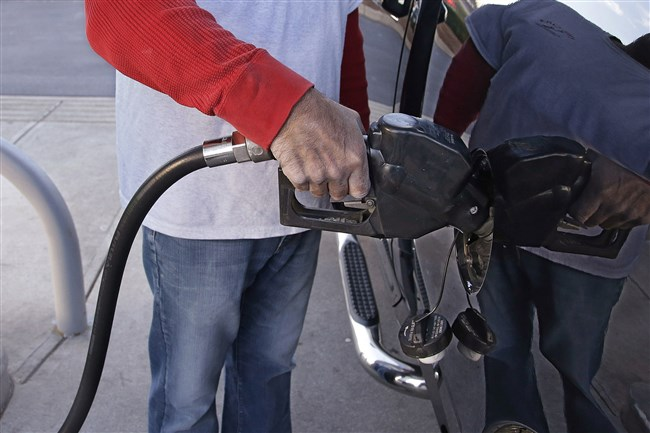 Gas prices in the Pittsburgh area rose this week to an average of $2.27 a gallon.