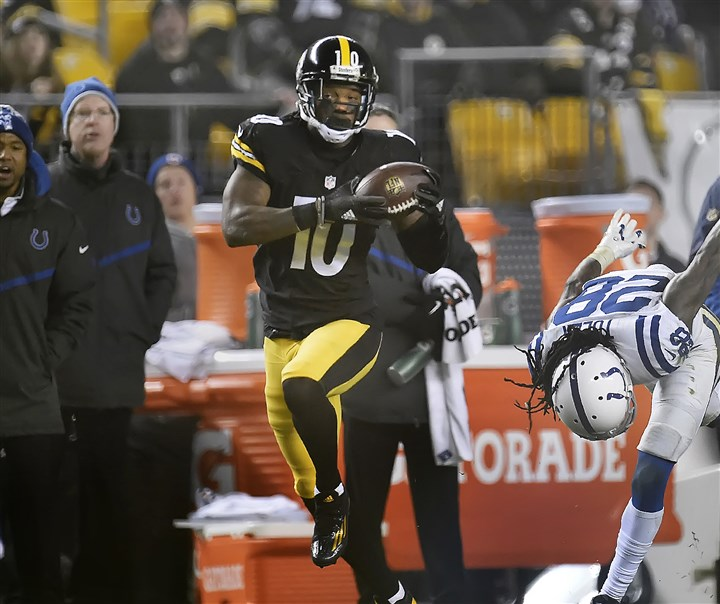 20151206pdSteelersSports08-2 Martavis Bryant will begin serving a one-year suspension effective immediately for violating the NFL's substance-abuse policy.