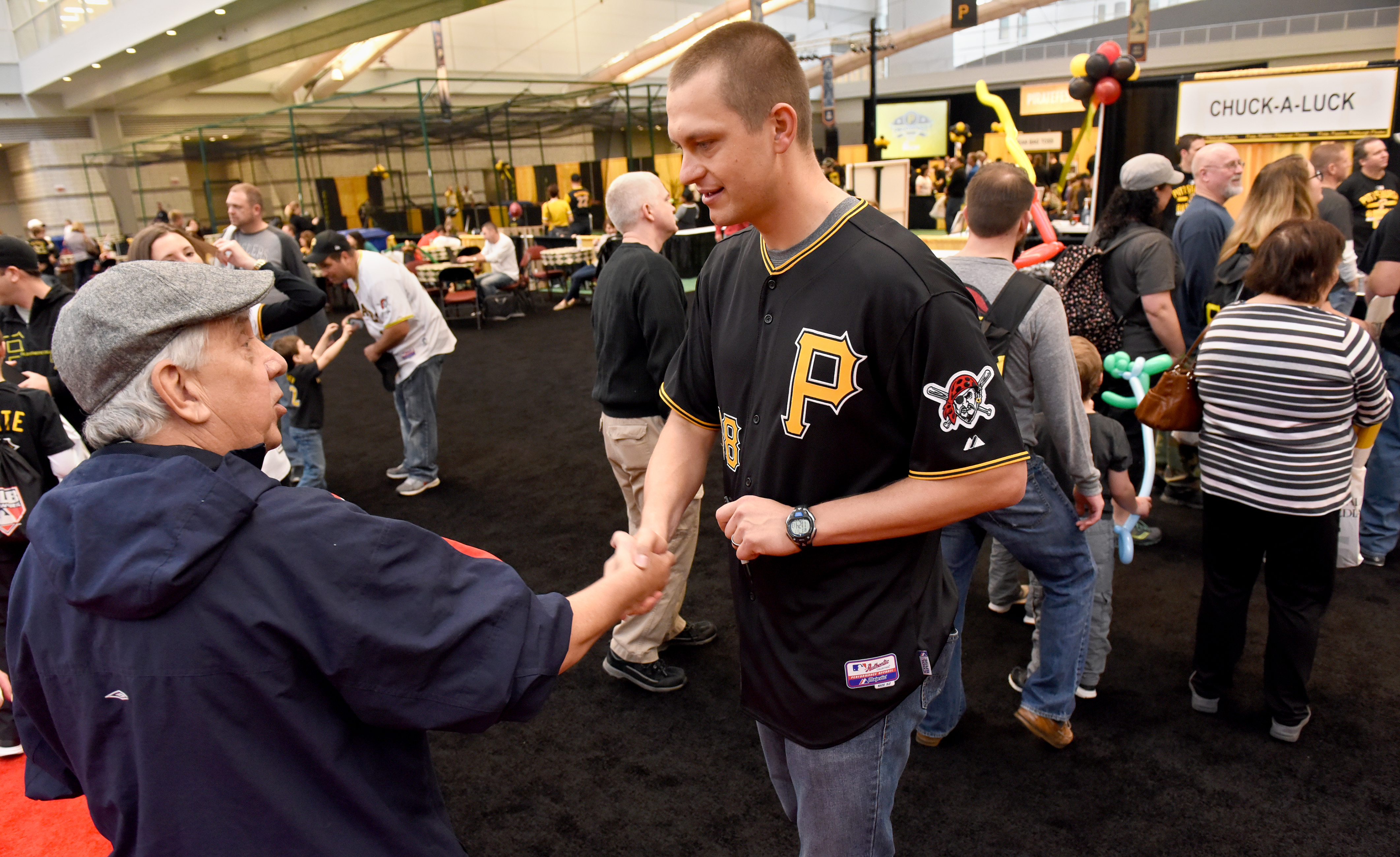 pittsburgh pirates meet and greet