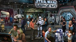 Star Wars Launch Bay will come to Walt Disney World Resort in Florida and Disneyland Resort in California.