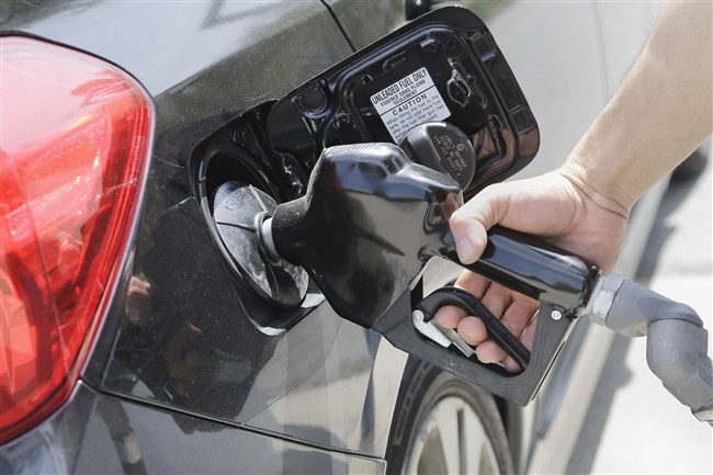 The average price for a gallon of gasoline in the Pittsburgh region rose in the last week for the first time since April.