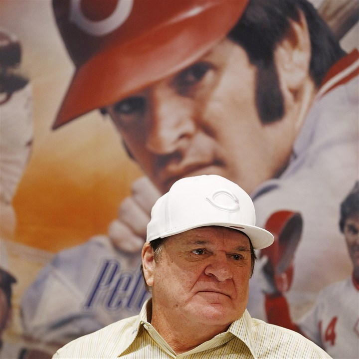 Rose Rejected By now, isn't Pete Rose a face only Cincinnati fans could love?