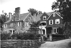 The William Walker house in Edgeworth as seen in 1996.