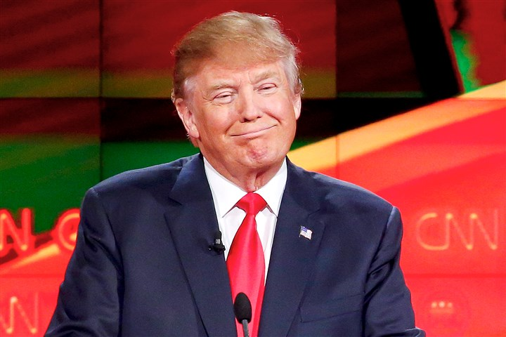 debate1216132-9 Donald Trump was interviewed before he decided to run for president.