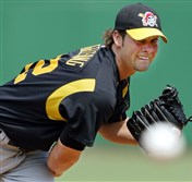 Ryan Vogelsong pitched for the Pirates from 2001 to 2006 before playing in Japan and returning to the majors with the San Francisco Giants.