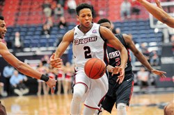 At 10-3, Duquesne is off to a great start, but now it kicks off a daunting conference slate today against Dayton.