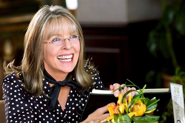 dianekeaton Diane Keaton cut her interview with Patricia Sheridan short.