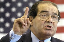 Grinch 1: Supreme Court Justice Antonin Scalia