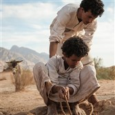 "While war rages in the Ottoman Empire, Hussein raises his younger brother Theeb (""Wolf"") in a traditional Bedouin community that is isolated by the vast, unforgiving desert. The brothers' quiet existence is suddenly interrupted when a British Army officer and his guide ask Hussein to escort them to a water well located along the old pilgrimage route to Mecca."