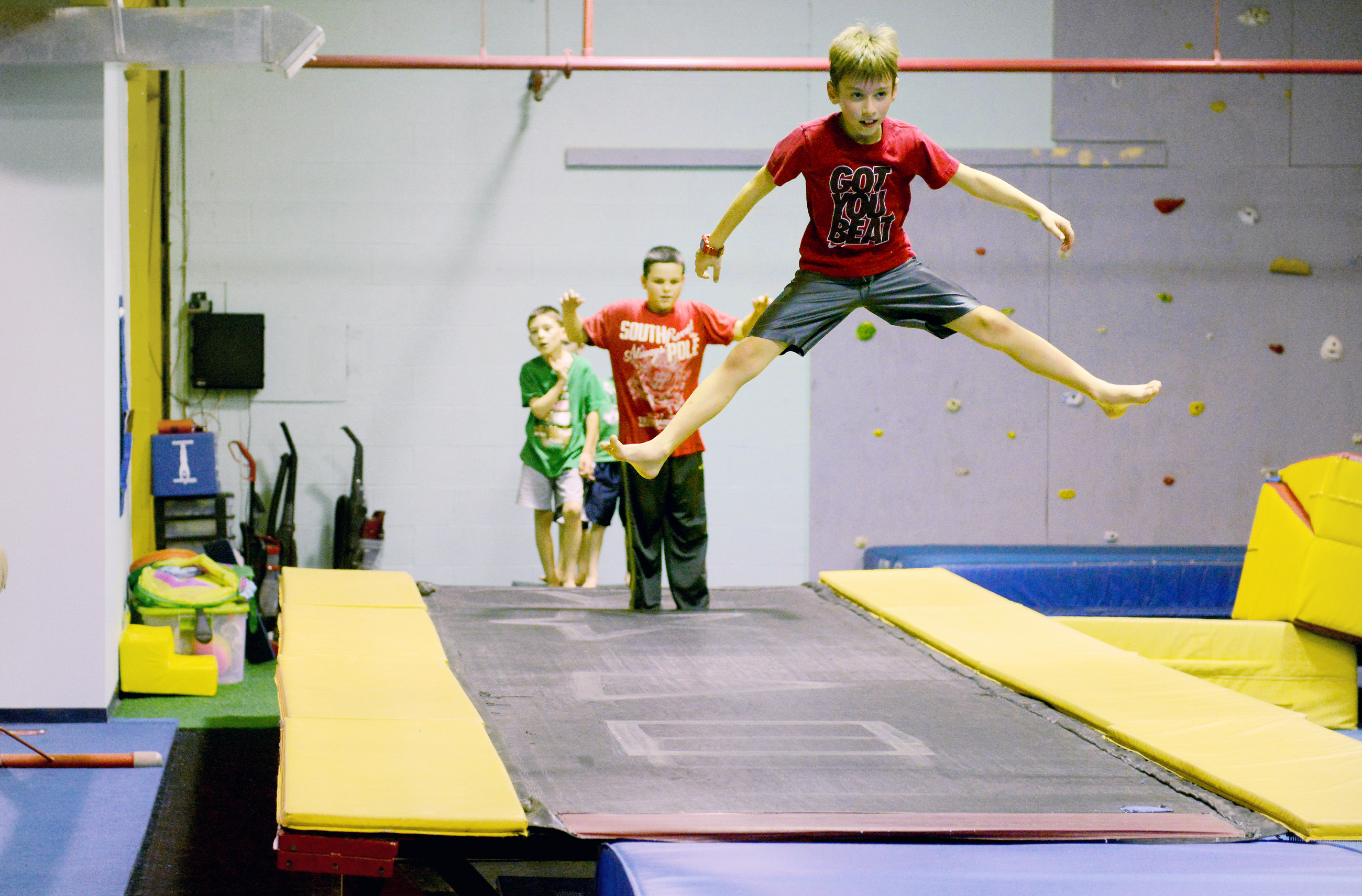 new castle gymnastics meet 2015