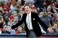Rick Pitino's Louisville Cardinals are 18-4, 7-2 ACC, and are ranked No. 19. They would have been a lock for a tournament berth if they had not won the league title.