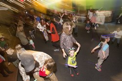 A Kid City Dance Party is held occasionally at the Children's Museum of Pittsburgh.