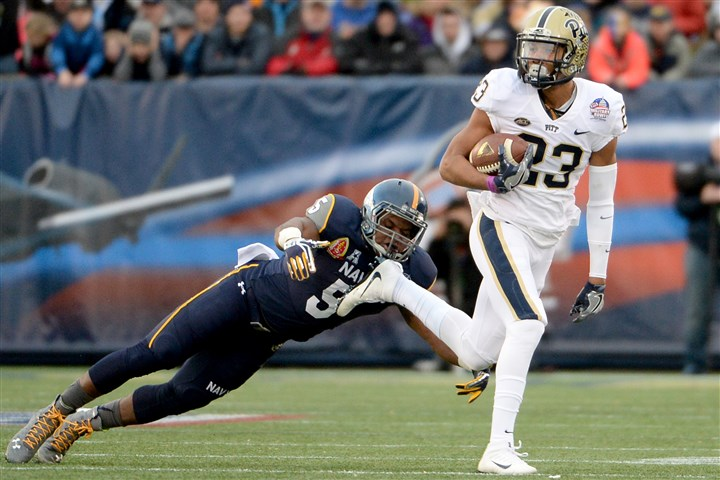 20151228mfpittsports06-1 Pitt's Tyler Boyd caught 91 passes this year for 926 yards and six touchdowns.