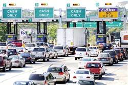 The state wants to collect on unpaid tolls and fees totaling $17.1 million.
