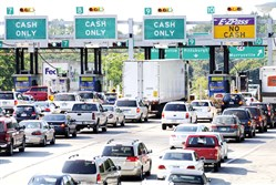 Over the next eight years, a consultant said tolls on the Pennsylvania Turnpike will increase 53 percent, but traffic will jump 44 percent.
