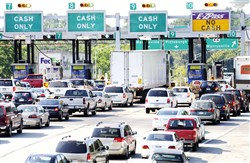 Sean Logan, chairman of the Pennsylvania Turnpike Commission, said the commission's debt payments make up about $600 million of its $980 million annual budget, a debt percentage that he said is growing and unsustainable.