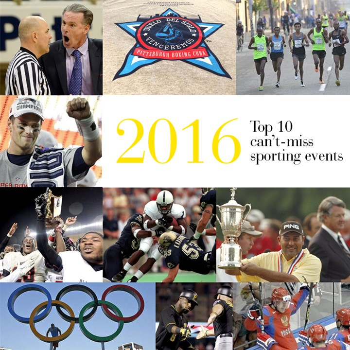 2016 sports top 10 events Get ready for 2016 with these 10 can't-miss sporting events.