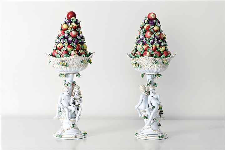 "antemann0106 ""Fruit Pyramids,"" are among the works on display at The Frick."