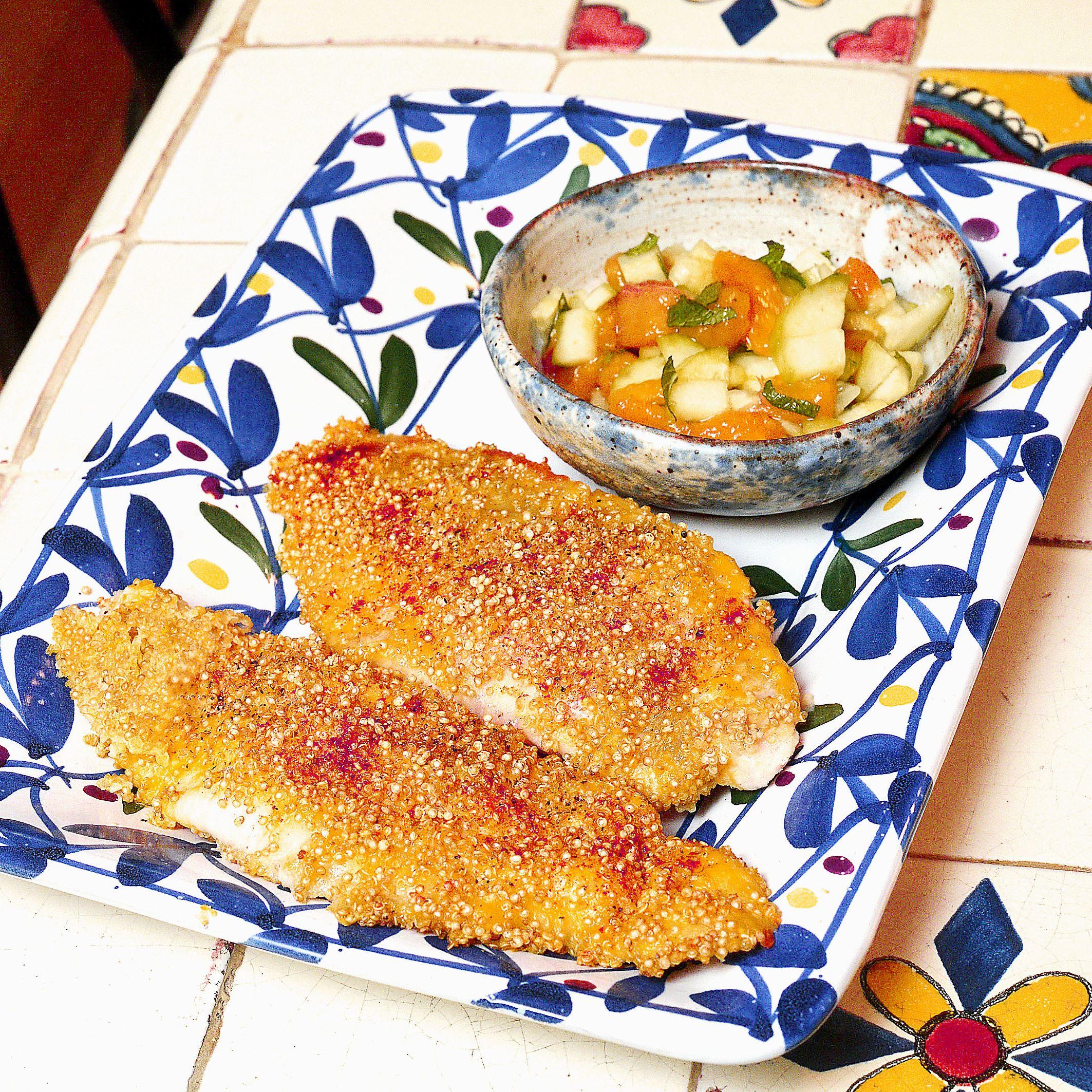 20151231lrquinoacatfishfood01-2 Quinoa Crusted Catfish.