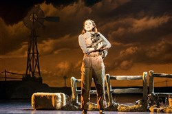 "Sarah Lasko portrays Dorothy, the girl who discovers ""there's no place like home,"" in the touring production of ""The Wizard of Oz,"" at Heinz Hall through Monday."