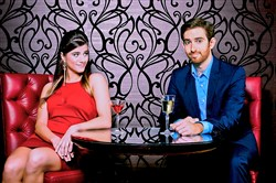 "Caroline Nicolian and Luke Halferty will star in a new version of the musical comedy ""First Date"" for CLO Cabaret Feb. 4-April 24, 2016, at the Cabaret at Theater Square, Downtown."