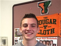 Yough High School boys basketball is a surprise team this season, led by senior guard/forward Nick Beers.