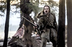 "Leonardo DiCaprio stars as legendary explorer Hugh Glass in ""Revenant."""