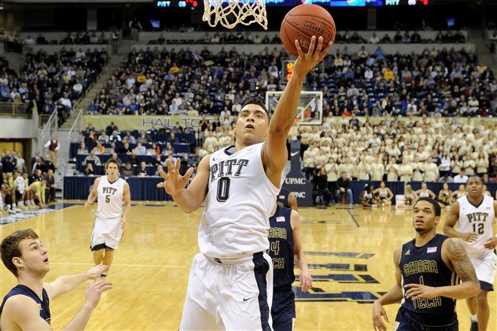 20150106mfpittsports10-5 Pitt's James Robinson leads Division I in assist-to-turnover ratio and, in coach Jamie Dixon's opinion, is one of the most underrated players in the country.