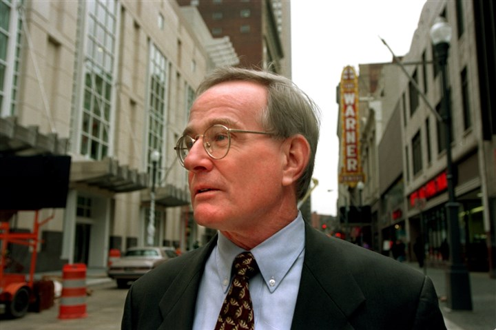 Murphy0108d-3 Former Mayor Tom Murphy, whose $522 million plan to revitalize Fifth and Forbes avenues collapsed when Nordstrom bailed out.