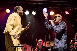 Otis Clay and Billy Price at the Rex in September.