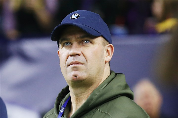 20160108apOBrien Houston Texans coach Bill O'Brien is in need of a long-term starting quarterback, and Christian Hackenberg, who played under O'Brien shortly at Penn State, is a potential option.