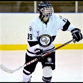 Quaker Valley junior Beau Tomczak is among the leading scorers in PIHL Class AA.