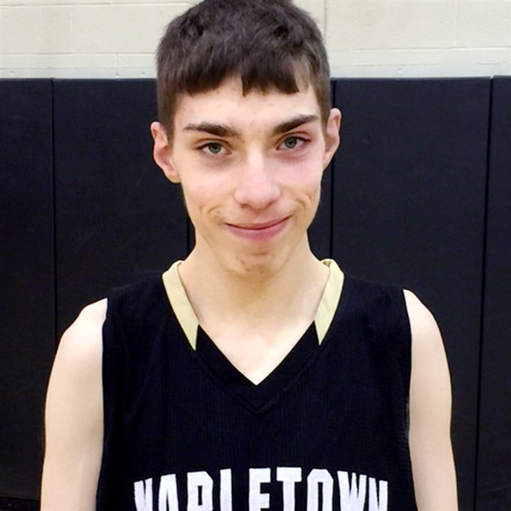 hskid0112 Austin Herpak, a Mapletown player who has autism, scored 12 points last week against Monessen.