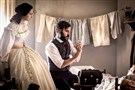 "Emma Green (Hannah James) and Jedediah Foster (Josh Radnor) in PBS's ""Mercy Street."""