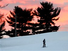 Skiers on Thursday take advantage of the recent snow and colder temperatures to get out to Boyce Park Ski Area in Boyce Park.