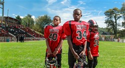 "Players for the Alilquippa L'il Quips appear in the upcoming TV series ""Friday Night Tykes: Steel Country."""