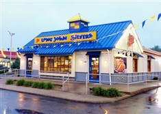 Pittsburgh is front and center for the new Long John Silver's because of the region's large Catholic population, the third largest nationwide, according to CEO James O'Reilly.