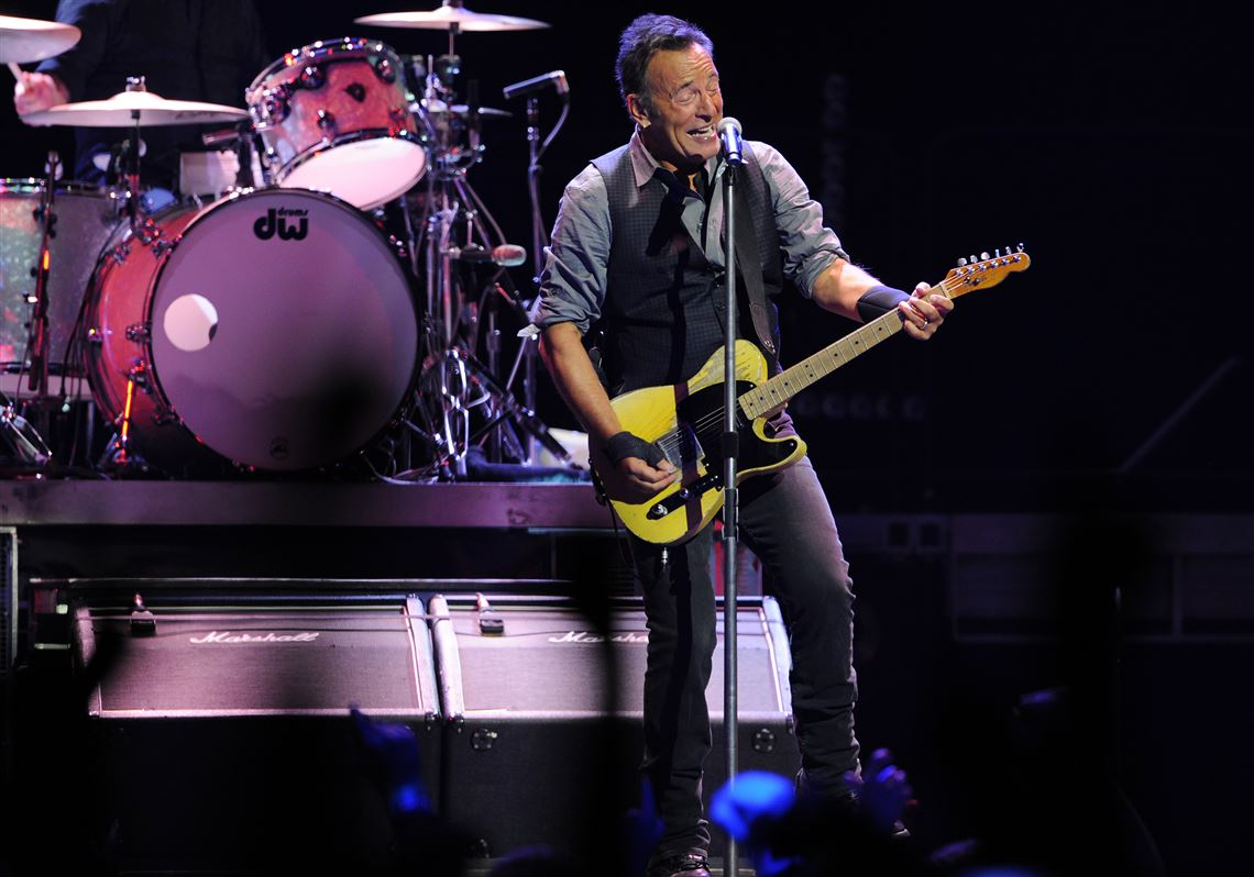 Music Preview Springsteens 10 Most Memorable Moments In Pittsburgh