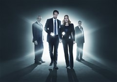 From left, Mitch Pileggi, David Duchovny, Gillian Anderson and William B. Davis.