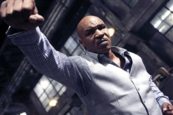 "Mike Tyson appears as ""Frank"" in ""Ip Man 3."""