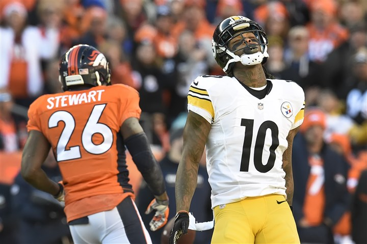 web_20160117pdSteelersSports16 (Copy) The Steelers' Martavis Bryant is facing a season-long suspension from the NFL.