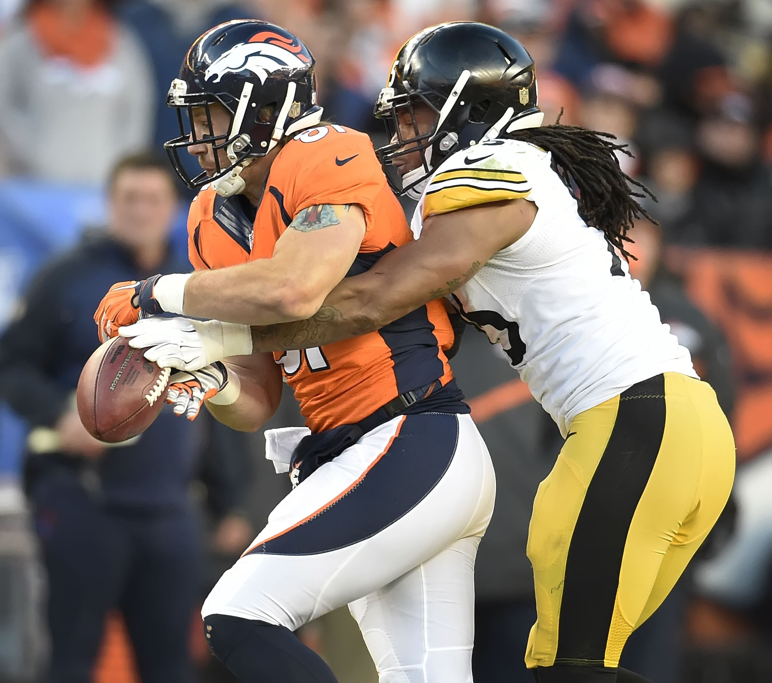 Steelers notebook: Denver rookie catches Steelers DBs out of position