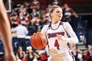 Duquesne's Chassidy Omogrosso leads the Atlantic 10 Conference in 3-point shooting percentage.