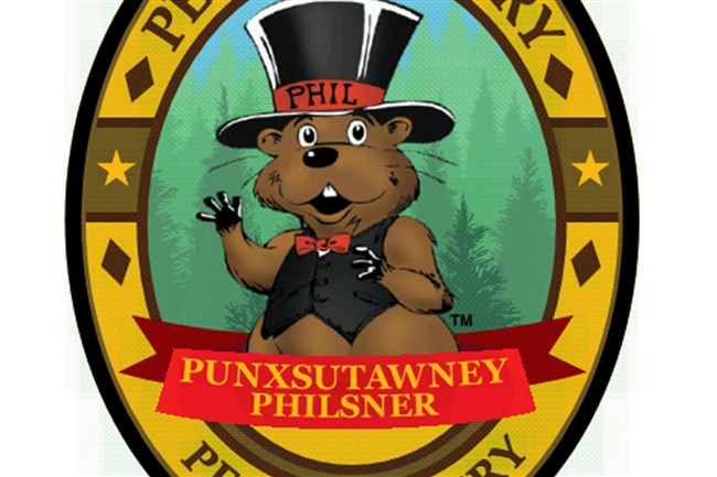 On Saturday, Jan. 23, Penn Brewery will launch Punxsutawney Philsner beer.
